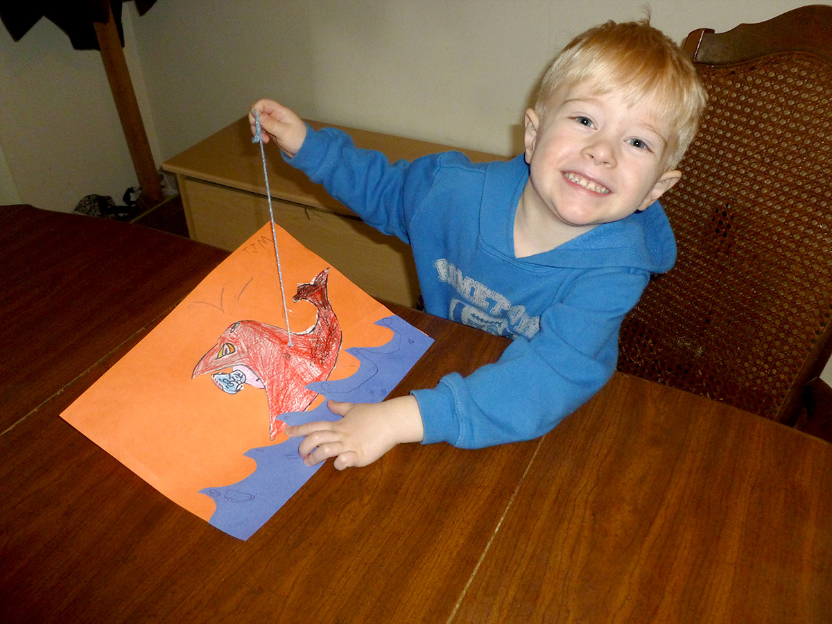 Jonah And The Giant Fish Kids Craft