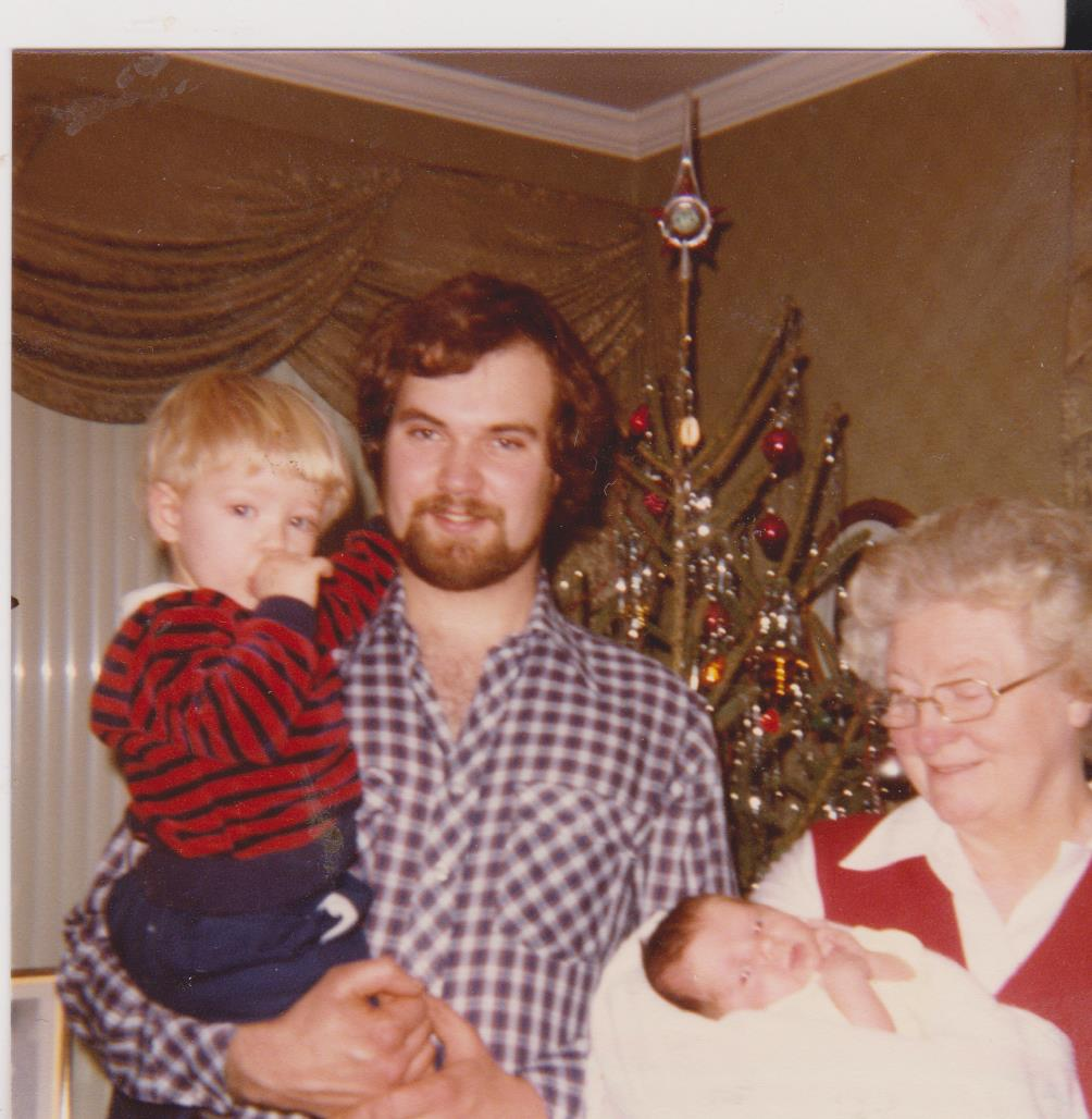 Mom, Bruce, Harold & baby Grace 001